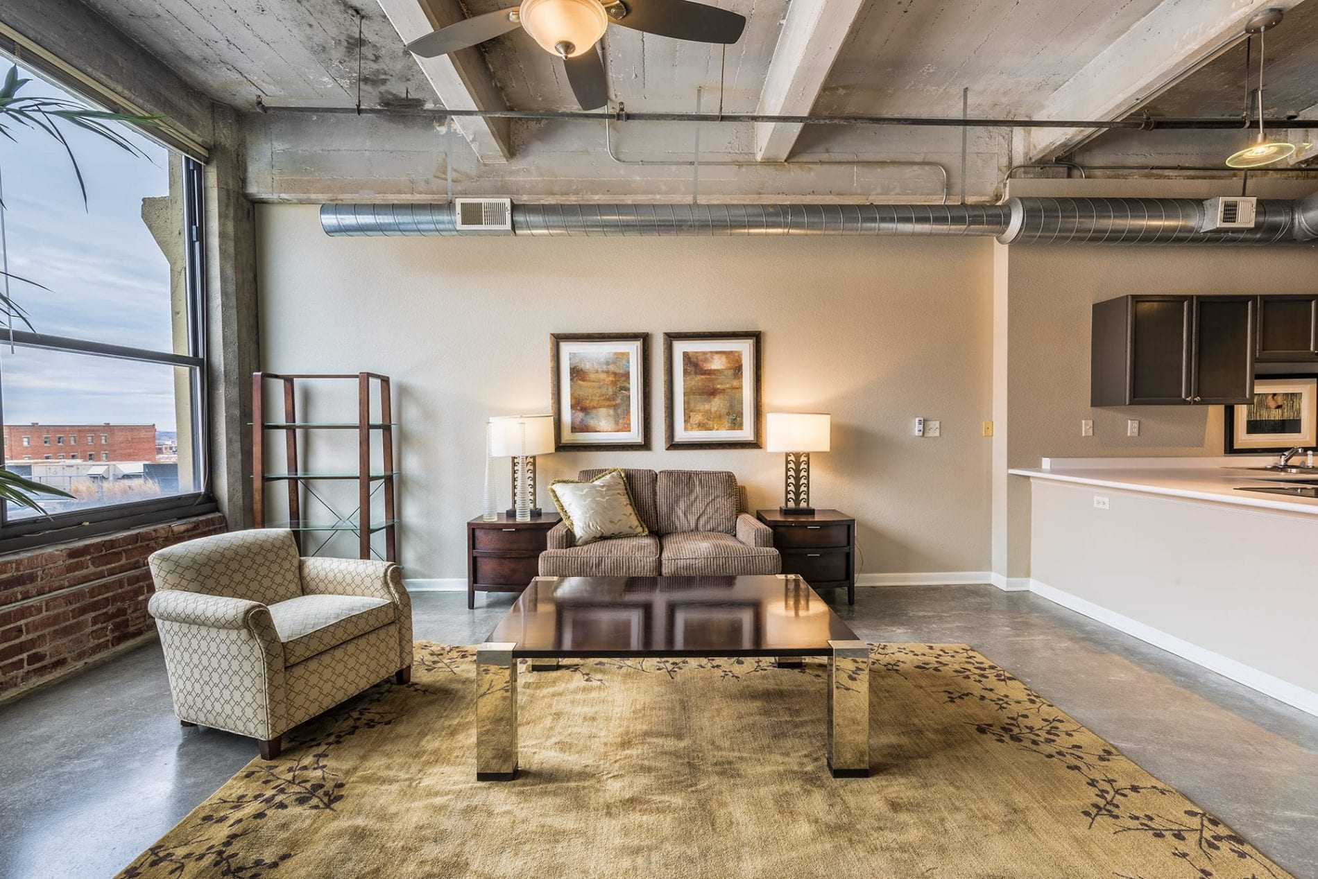 Soho Lofts 325 Living