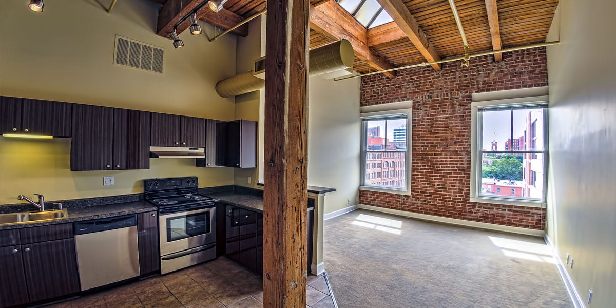 Featured For Rent – Trolley Park Lofts #607
